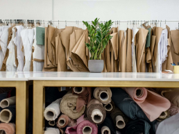 Image showing NCR use in tailoring shop
